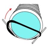 Уплотнительное кольцо Корсис d 110