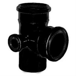 Тройник пнд 110x50х90 2-х плоск.канализационный