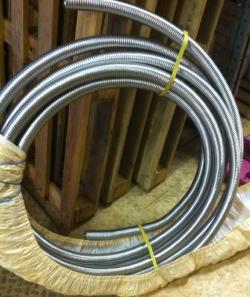 Труба гофрированная отожженная 50х0,3 нержавеющая сталь