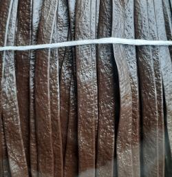 Ротанг винтажная кожа ширина 10мм, толщина 1.8мм