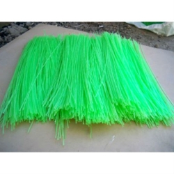 Ворс полипропиленовый для щеток, цвет зеленый, 4 мм