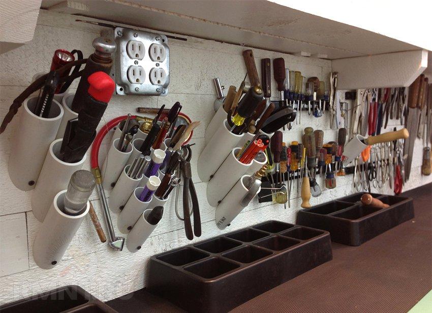 Идеи для хранения инструментов своими руками