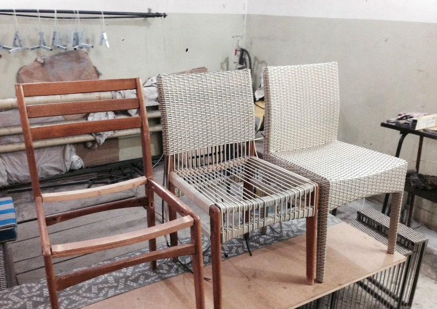 Мебель с ротанга своими руками